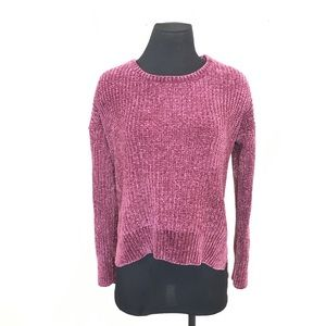 Hippy rose popover sweater top